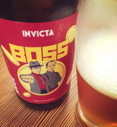 Cerveja IPA Invicta BOSS | Cozinha do João