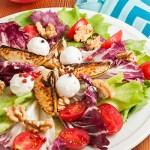 Salada de pera, nozes e queijo de cabra | Cozinha do João