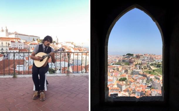 Lisboa — um passeio pela Alfama até o Castelo de São Jorge