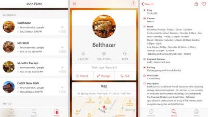 App Open Table para reservas de restaurantes em Nova York   Cozinha do João