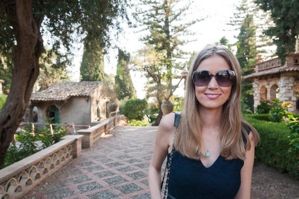 Amanda Figueiredo na viagem para Sicília, na Itália: Taormina | Cozinha do João