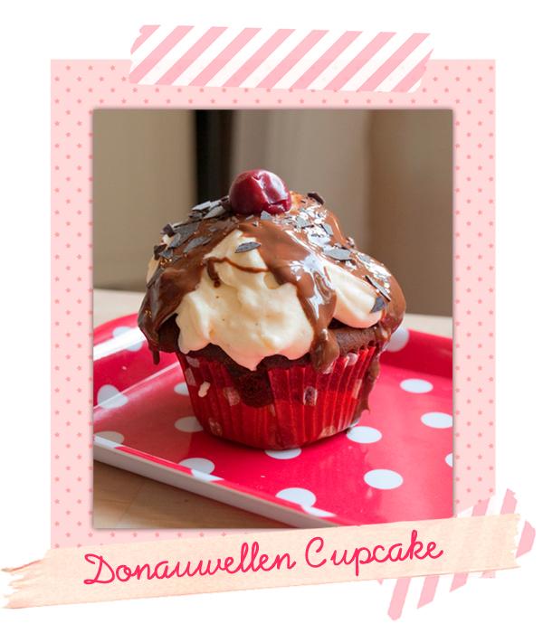 Rezept für Donauwelle-Cupcakes!