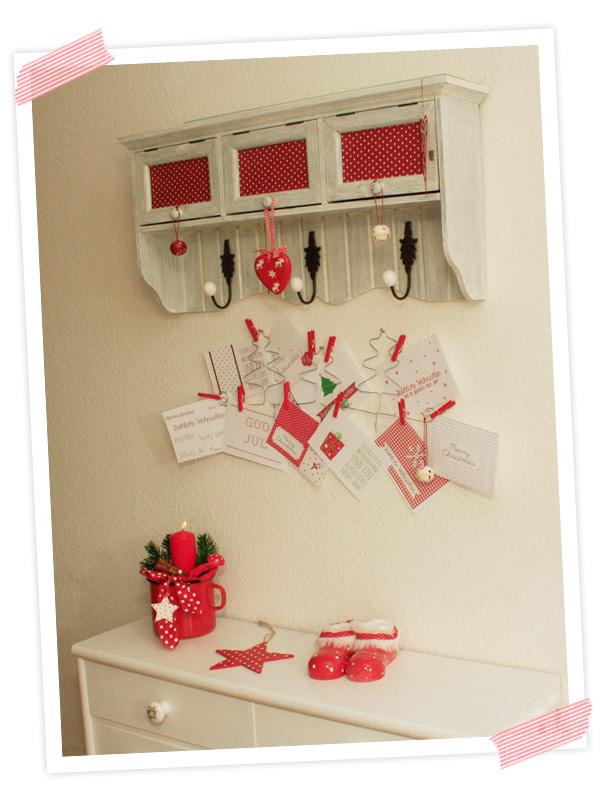 Wunderschönes DIY. Aus Draht gebogener halter für Weihnachtskarten oder Lieblingsfotos.