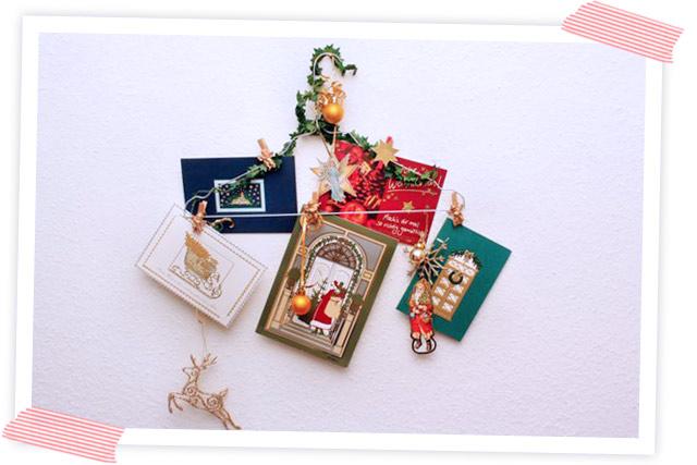 Diese Woche ist die Woche der Weihnachtskarten. In keiner Woche wechseln so viele Briefe und Karten den Besitzer wie in der Woche vor Weihnachten.