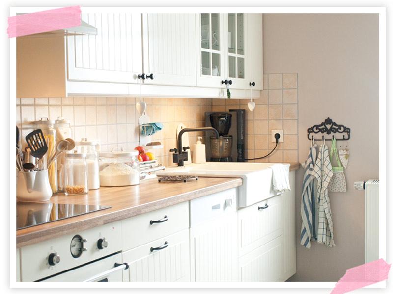 Mittag gekocht, die Küche verwüstet und wieder aufgeräumt ;-)