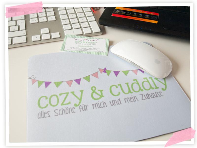 Uiii.... Ein cozy & cuddly Mousepad!