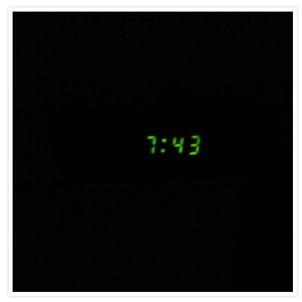 Der frühe Vogel konnte mich heute mal, denn mein Liebster hat Spätschicht und dann schlafe ich auch gern schon mal ein bisschen länger :-)