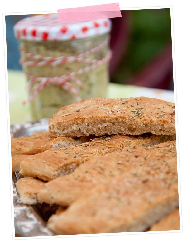 Rezept für Leckeres Foccacia mit Dinkelmehl - Post aus meiner Küche -