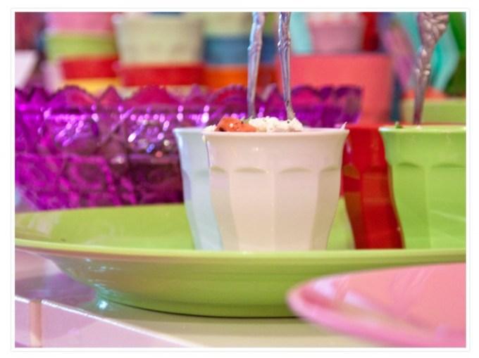 Feta-Minz Salat an Rice ;-)