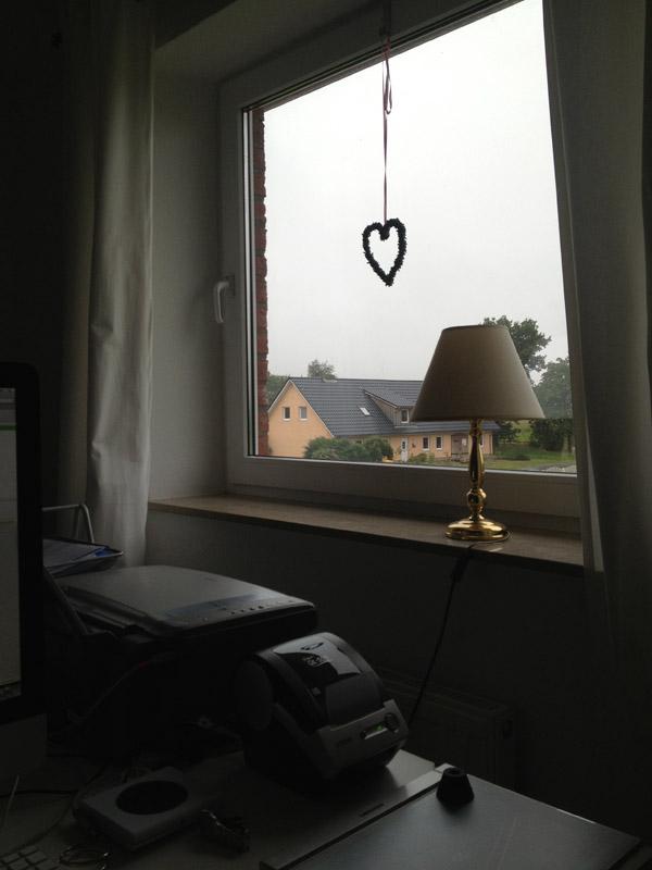Blick aus dem Fenster am Nachmittag...... Örgs