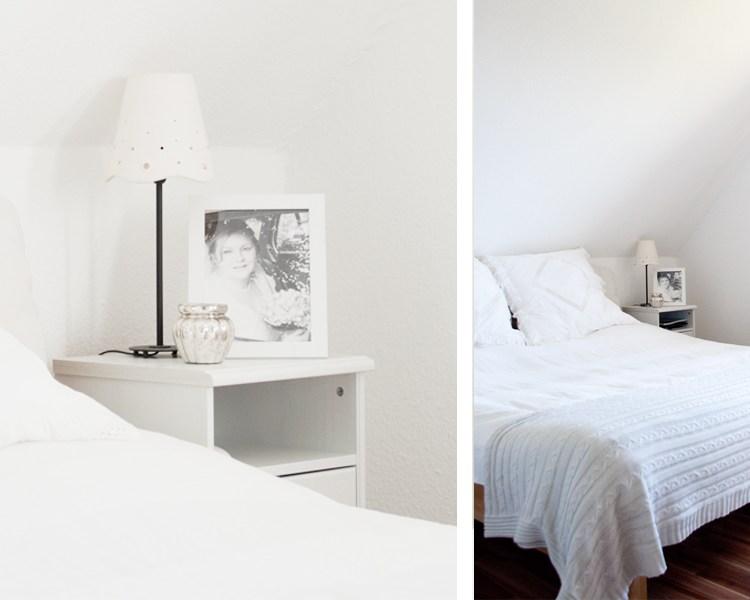 Ein Schlafzimmer kuschelig zu machen ist gar nicht schwer. Mit Wohntextilien und wenigen Accessoires ein schönes Ambiente schaffen