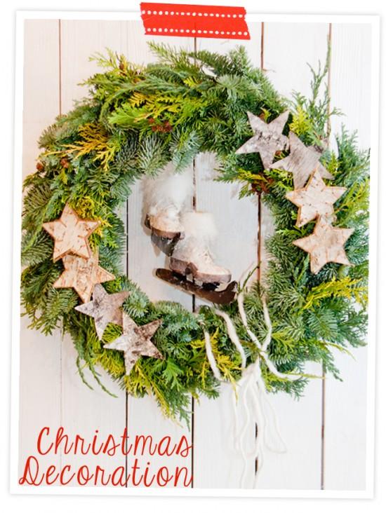 Weihnachten: Fotoanleitung Kränze binden
