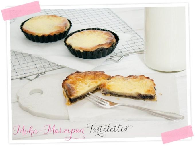 Mohn-Marzipan Tartelettes- das kleine Törtchen für den besonderen Anlass