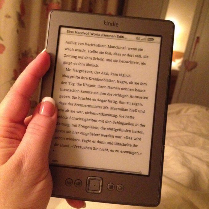 Noch ein wenig Lesen und dann Licht aus. Gute Nacht