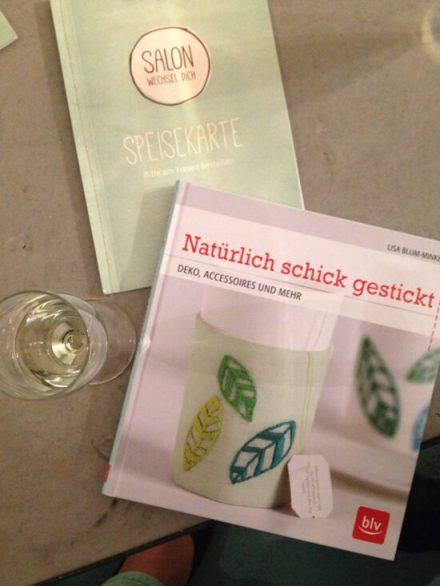 """Natürlich schick gestickt - DIY-Blogger Buchparty im """"Salon Wechsel Dich"""" in Hamburg mit Lisa Blum-Minkel"""
