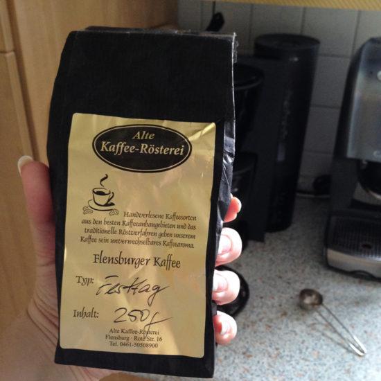 Weltbester Start in den Tag mit lecker Kaffee aus Flensburg!