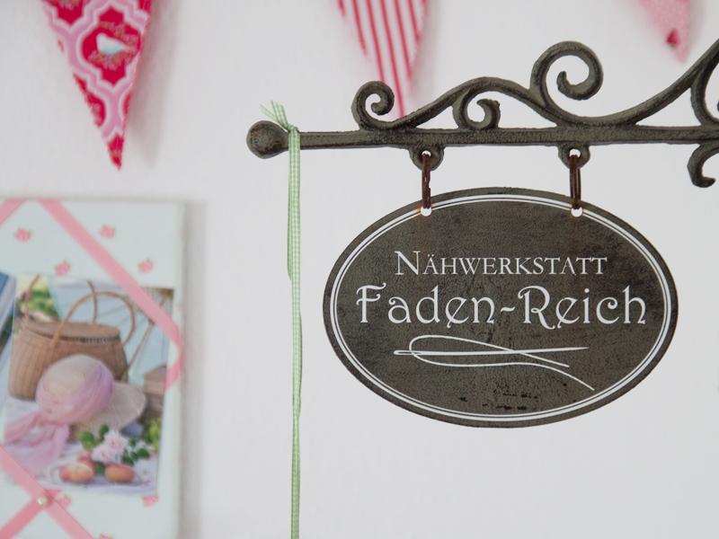 Faden-Reich... so hieß unser kleines Atelier bisher... mal sehen, ob das so bleibt!