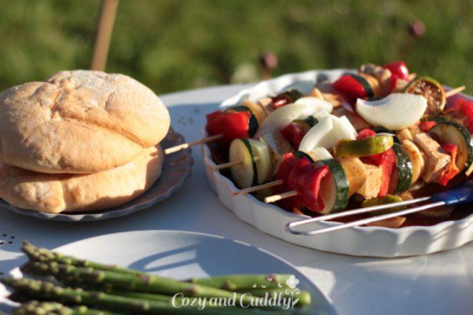 Vegan Grillen ganz einfach. leckere und schnelle Rezepte für den Gasgrill
