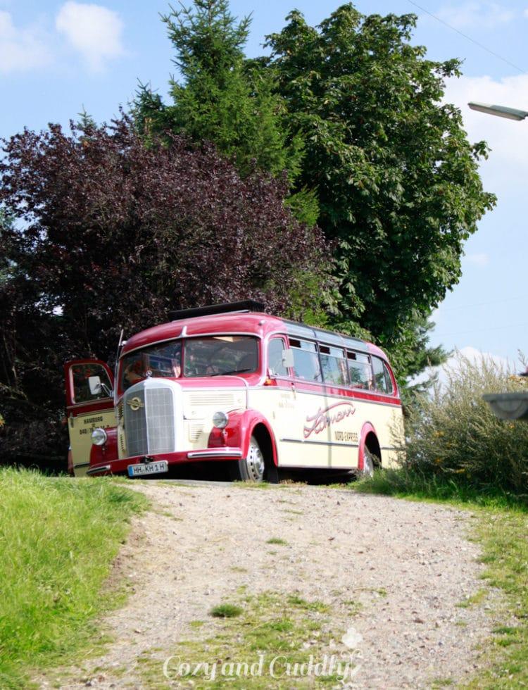 Der Bus holte uns wieder ab und wir genossen erneut die tolle Fahrt im Cabrio-Bus bei traumhaften Wetter