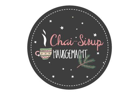 chai-sirup-etikett-vorlage