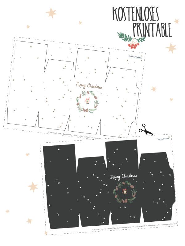 Adventskalender Türchen Nr. 22 - Geschenkboxen zum selbstausdrucken
