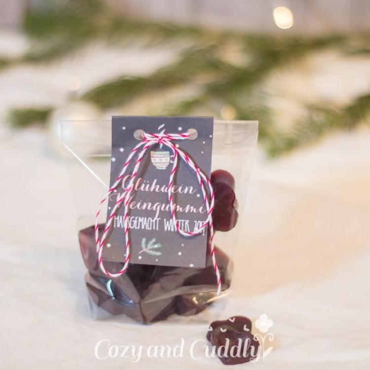 Advent: Rezept für selbstgemachte Glühwein-Weingummis - cozy and cuddly Adventskalender