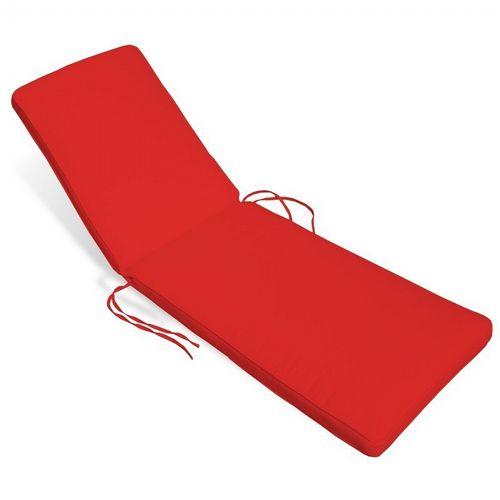 sunbrella outdoor chaise cushion 24w 76l 2h solid
