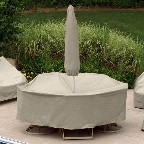 60 to 66 tables 6 chairs patio set cover w umbrella hole