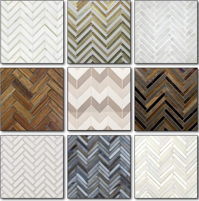 Herringbone - Make your everyday tile extraordinary