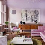 Lilac living room