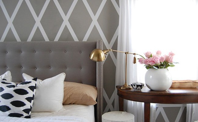 My Current Obsession – Grey Tufted Headboards