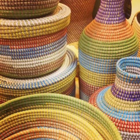 Baskets from Hanoi, Vietnam