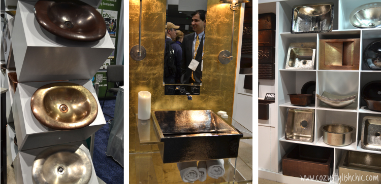 KBIS 2014-Top Kitchen and Bath Trends - Mixed Metals from Thompson Traders