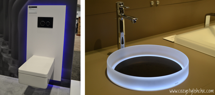 KBIS 2014 Kitchen and Bath - trends - Innovative Lighting solutions - Laufen and Toto