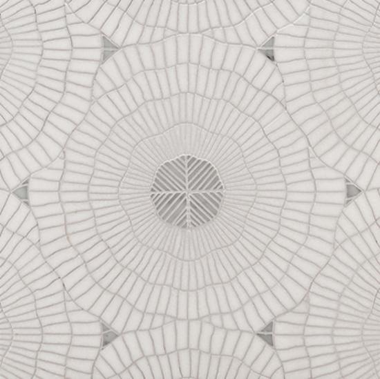 aquaria mosaic in thassos and carrara by Ann Sacks