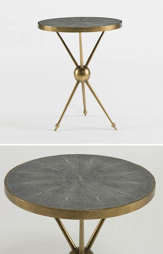 Dwell Studio - grey and antique brass