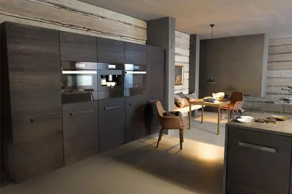 The Generation 6000 Miele Combi-Steam Oven in a New Truffle Brown Finish