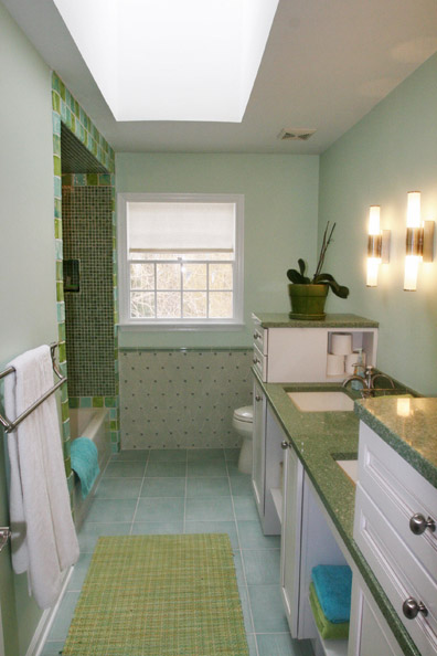 Kids bathroom by Pasadena interior designer Jeanne Chung