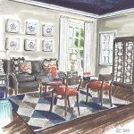 Jeanne K Chung | Cozy•Stylish•Chic living room rendering