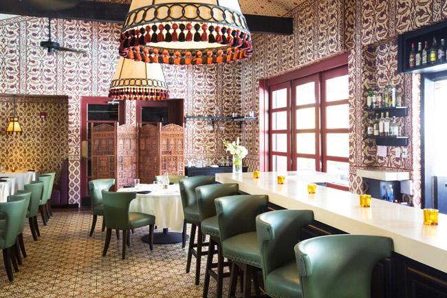 The Purple Palm Restaurant Reimagined by Martyn Lawrence Bullard
