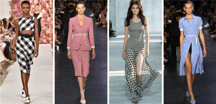New York Fashion Week Spring/Summer 2015 Trends - Gingham | Cozy•Stylish•Chic #NYFW #ss2015