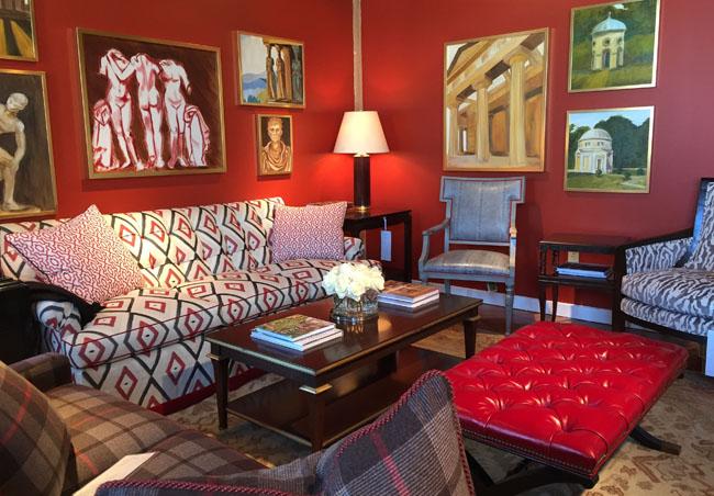 Alexa Hampton for Hickory Chair via Cozy Stylish Chic