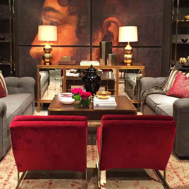Bernhardt Interiors at High Point Market Fall 2014 via Cozy Stylish Chic