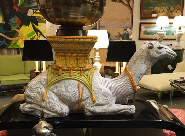 Vintage Porcelain Camel from HKFA 20th Century via Cozy Stylish Chic