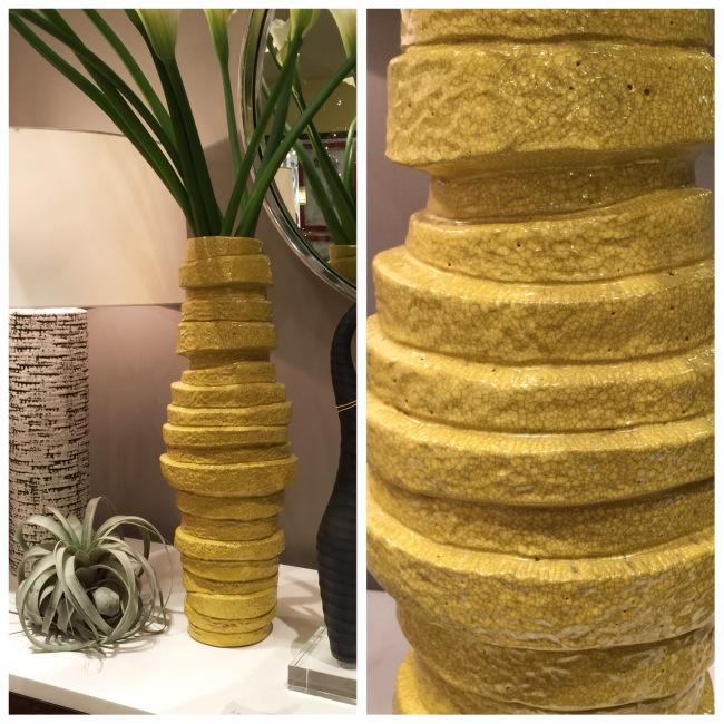 Marisol Vase from Arteriors viz Cozy Stylish Chic