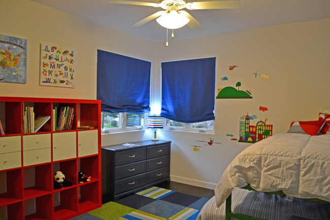 Ecobungalow LA-boys bedroom