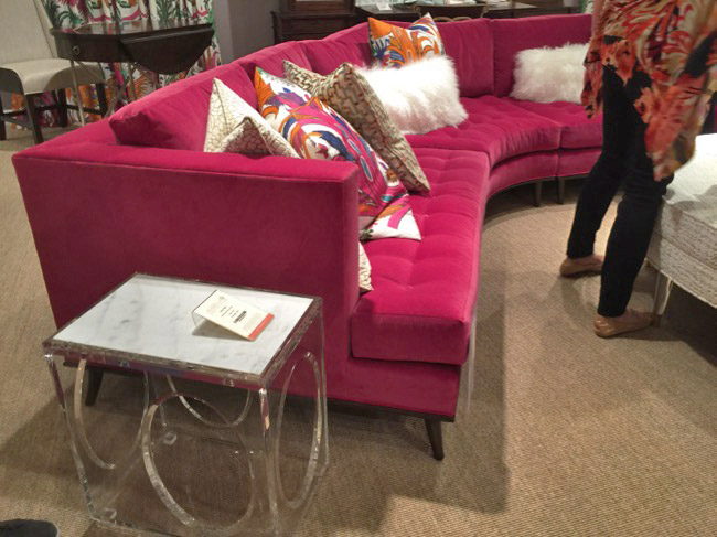 The Sexy Sectional - High Point Market Trends - Fall 2016