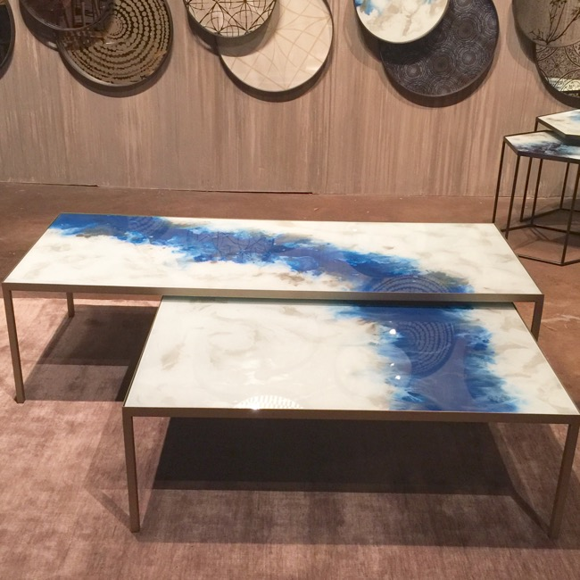 High Point Market highlights - Notre Monde nesting tables