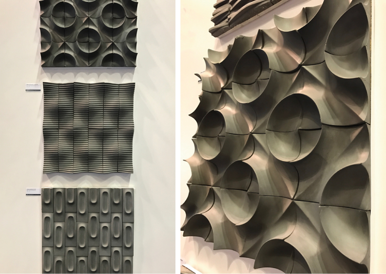 3-D tile trend - Coverings 2017