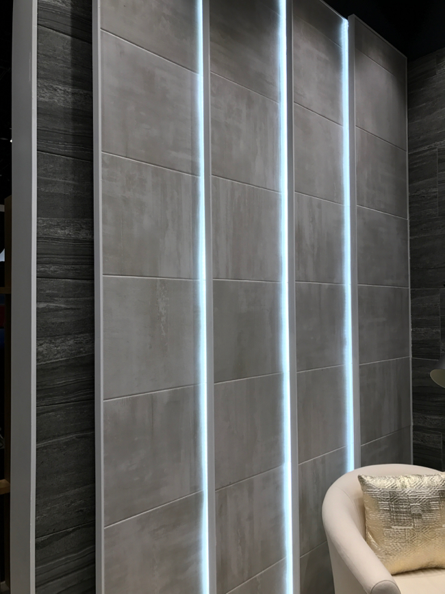 Coverings 2017 - Concrete tile trend